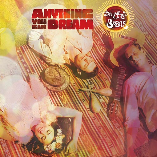 Cover Artwork for Magic Beans Second Album - Anything You Can Dream